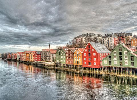 Bergen, Alesund, Lillehammer